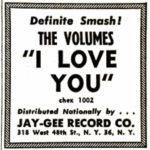 The Volumes in Billboard Magazine, April 14, 1962